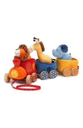 Развивающая игрушка поезд Сафари | Фото №1