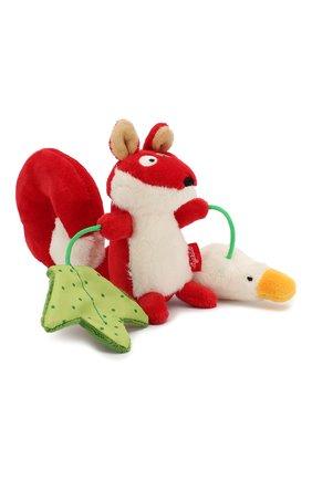 Детского развивающая игрушка лисичка SIGIKID красного цвета, арт. 41011 | Фото 1