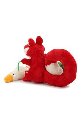 Детского развивающая игрушка лисичка SIGIKID красного цвета, арт. 41011 | Фото 2