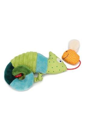 Детского развивающая игрушка хамелеон SIGIKID зеленого цвета, арт. 41056 | Фото 2
