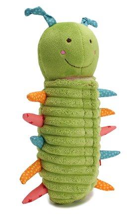 Детского развивающая игрушка гусеница SIGIKID зеленого цвета, арт. 42260 | Фото 2