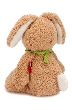 Детского игрушка зайка хуберто SIGIKID коричневого цвета, арт. 42366 | Фото 2