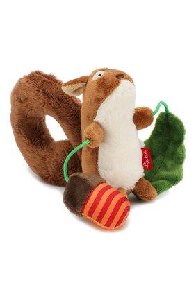 Детского развивающая игрушка белка SIGIKID коричневого цвета, арт. 41010 | Фото 2