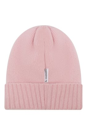 Детского шапка из шерсти и кашемира IL TRENINO светло-розового цвета, арт. 19 6310/EY | Фото 2