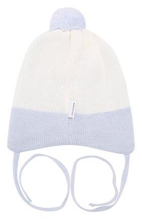 Детского шерстяная шапка IL TRENINO голубого цвета, арт. 19 5835/E0 | Фото 2