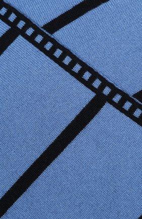 Детский кашемировый шарф LORO PIANA голубого цвета, арт. FAI7344 | Фото 2