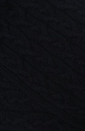 Детский кашемировый шарф LORO PIANA темно-синего цвета, арт. FAI7331 | Фото 2