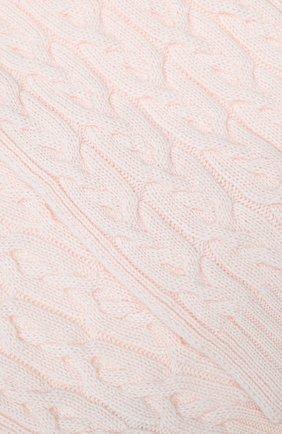 Детский кашемировый шарф LORO PIANA светло-розового цвета, арт. FAI7331 | Фото 2