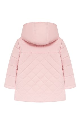 Детского куртка с капюшоном LORO PIANA розового цвета, арт. FAG3867 | Фото 2
