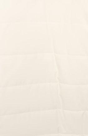 Детский комбинезон с капюшоном LORO PIANA белого цвета, арт. FAG3738 | Фото 3
