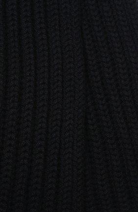 Детский кашемировый шарф LORO PIANA темно-синего цвета, арт. FAF8485 | Фото 2