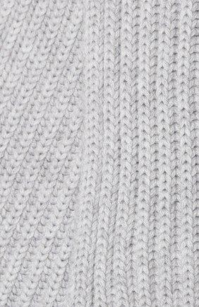 Детский кашемировый шарф LORO PIANA серого цвета, арт. FAF8485 | Фото 2