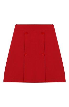 Детская юбка DAL LAGO красного цвета, арт. R378/8111/13-16 | Фото 1