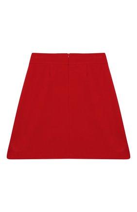 Детская юбка DAL LAGO красного цвета, арт. R378/8111/13-16 | Фото 2
