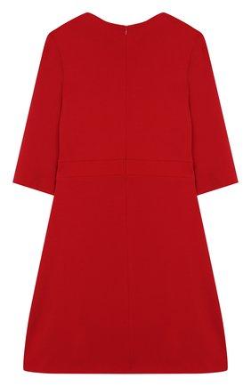 Детское платье из вискозы DAL LAGO красного цвета, арт. R280/8111/13-16 | Фото 2