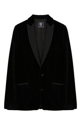 Детский костюм из пиджака и брюк DAL LAGO темно-синего цвета, арт. N062M/7712/17/L-18/XL | Фото 2