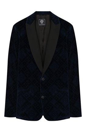Детский костюм из пиджака и брюк DAL LAGO темно-синего цвета, арт. N058RM/8732/17/L-18/XL | Фото 2