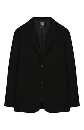Детский костюм из пиджака и брюк DAL LAGO черного цвета, арт. N010M/1011/17/L-18/XL | Фото 2