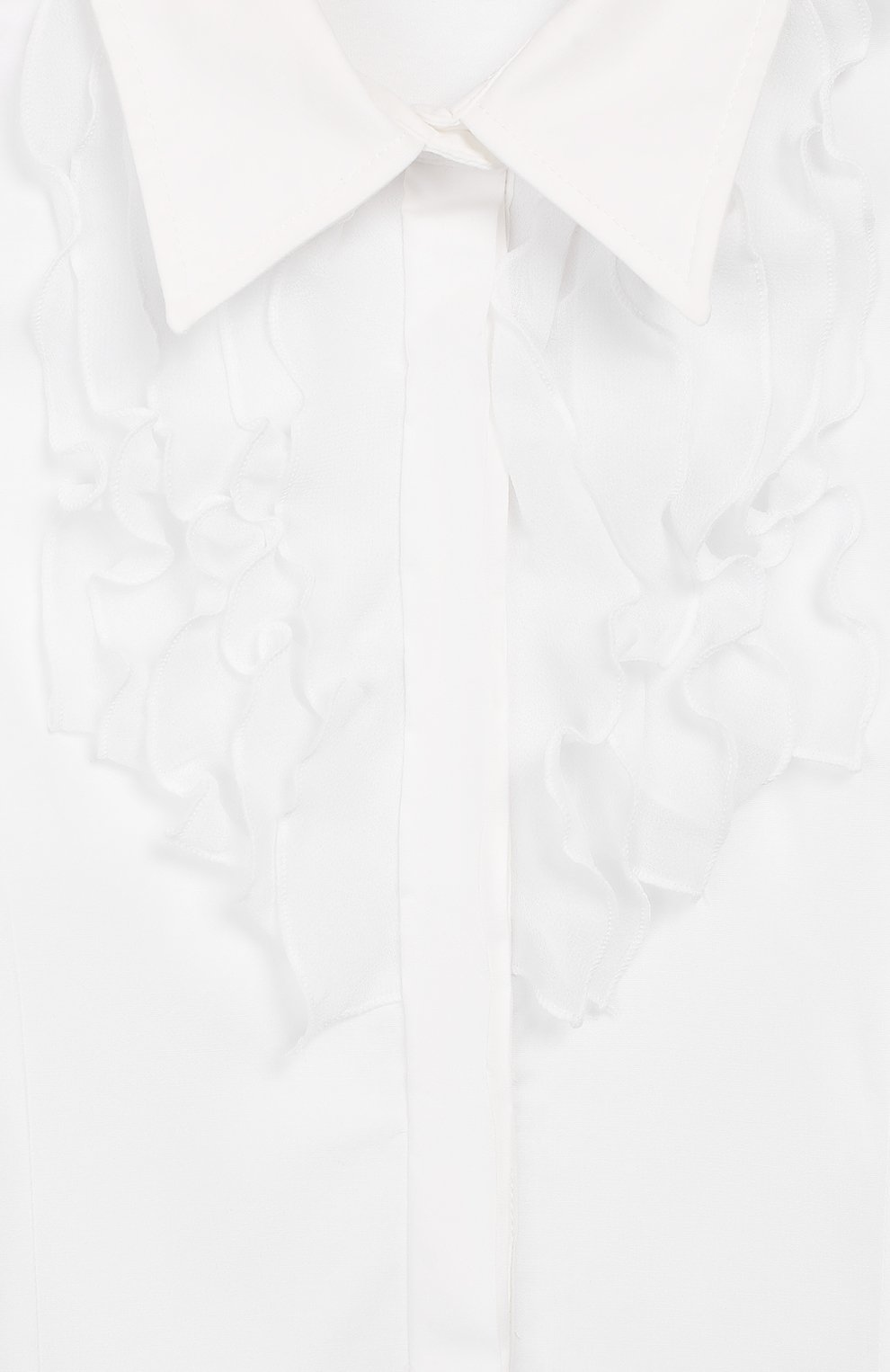 Хлопковая блузка | Фото №6