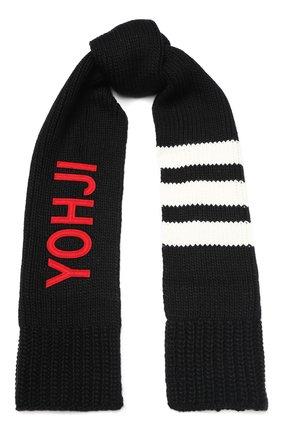 Мужской шарф Y-3 черного цвета, арт. FH9287/M | Фото 1