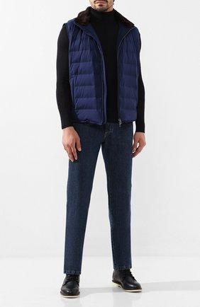 Мужские джинсы BRIONI синего цвета, арт. SPNJ0L/08D18/STELVI0 | Фото 2