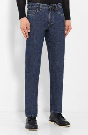Мужские джинсы BRIONI синего цвета, арт. SPNJ0L/08D18/STELVI0 | Фото 3