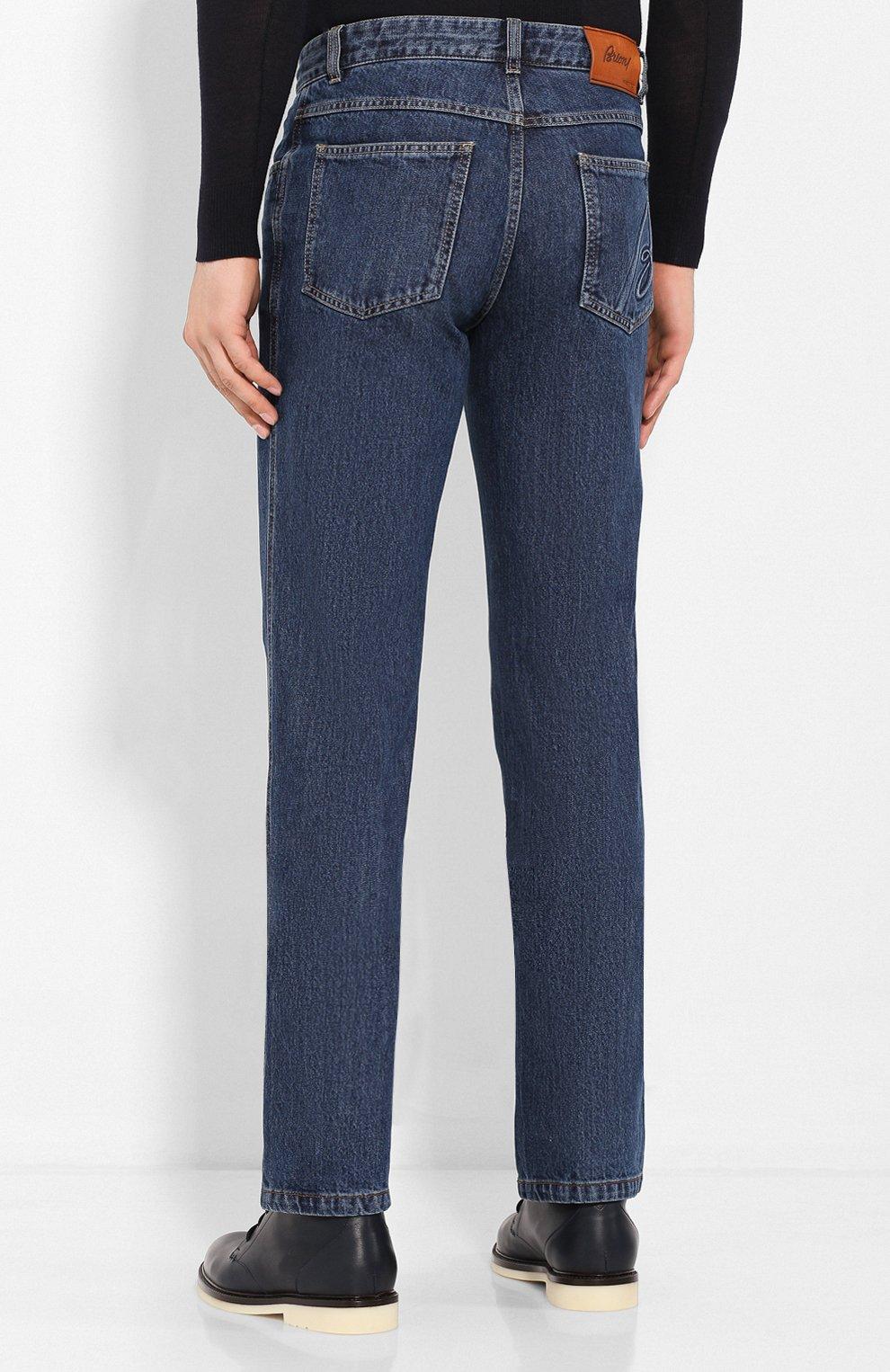 Мужские джинсы BRIONI синего цвета, арт. SPNJ0L/08D18/STELVI0 | Фото 4
