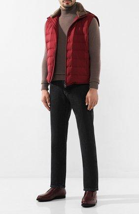 Мужские джинсы BRIONI серого цвета, арт. SPNJ0L/08D24/STELVI0 | Фото 2
