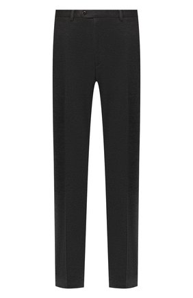 Мужской шерстяные брюки BRIONI темно-серого цвета, арт. UJBV0L/08631 | Фото 1