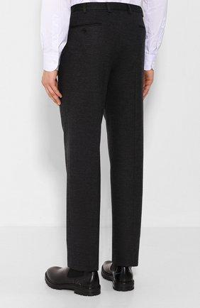 Мужские шерстяные брюки BRIONI темно-серого цвета, арт. UJBV0L/08631 | Фото 4