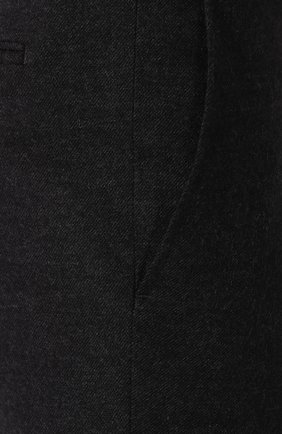 Мужские шерстяные брюки BRIONI темно-серого цвета, арт. UJBV0L/08631 | Фото 5