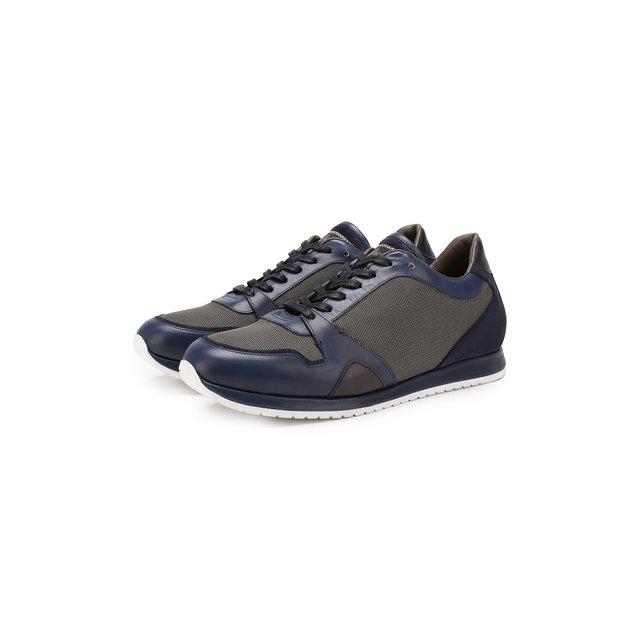 Комбинированные кроссовки Brioni — Комбинированные кроссовки