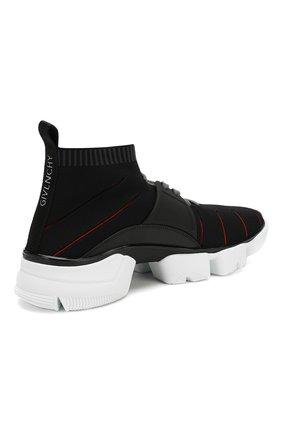 Мужские текстильные кроссовки jaw GIVENCHY черного цвета, арт. BH0021H0FM | Фото 4