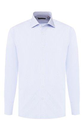 Мужская хлопковая сорочка CORNELIANI синего цвета, арт. 84P100-9811329/00 | Фото 1