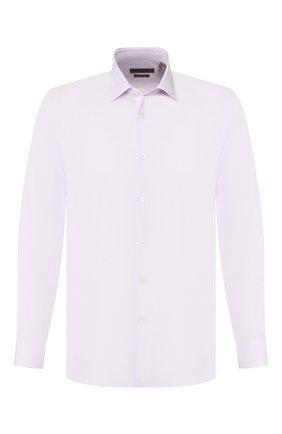 Мужская хлопковая сорочка CORNELIANI светло-розового цвета, арт. 84P010-9811329/00 | Фото 1