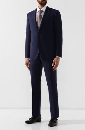 Мужской шерстяной костюм CORNELIANI темно-синего цвета, арт. 847268-9817087/92 Q1 | Фото 1