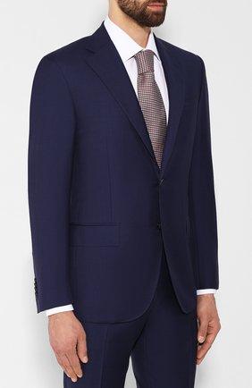 Мужской шерстяной костюм CORNELIANI темно-синего цвета, арт. 847268-9817087/92 Q1 | Фото 2