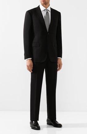 Мужской шерстяной костюм CORNELIANI черного цвета, арт. 847315-9818414/92 Q1 | Фото 1