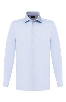 Мужская хлопковая сорочка LUIGI BORRELLI голубого цвета, арт. EV08/LUCIAN0 DC/TS10224 | Фото 1