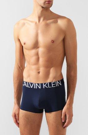 Мужские боксеры CALVIN KLEIN темно-синего цвета, арт. NB1702A   Фото 2