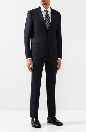 Мужской шерстяной костюм SAND темно-синего цвета, арт. 1592 STAR NAP0LI-CRAIG | Фото 1