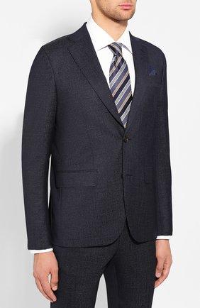 Мужской шерстяной костюм SAND темно-синего цвета, арт. 1592 STAR NAP0LI-CRAIG | Фото 2