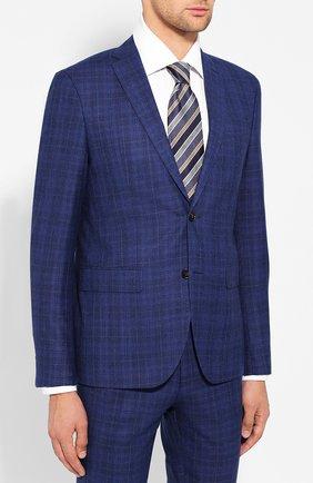 Мужской шерстяной костюм SAND синего цвета, арт. 1602 STAR-CRAIG | Фото 2