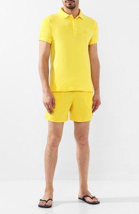Детского плавки-шорты VILEBREQUIN желтого цвета, арт. MOOE9A00 | Фото 2