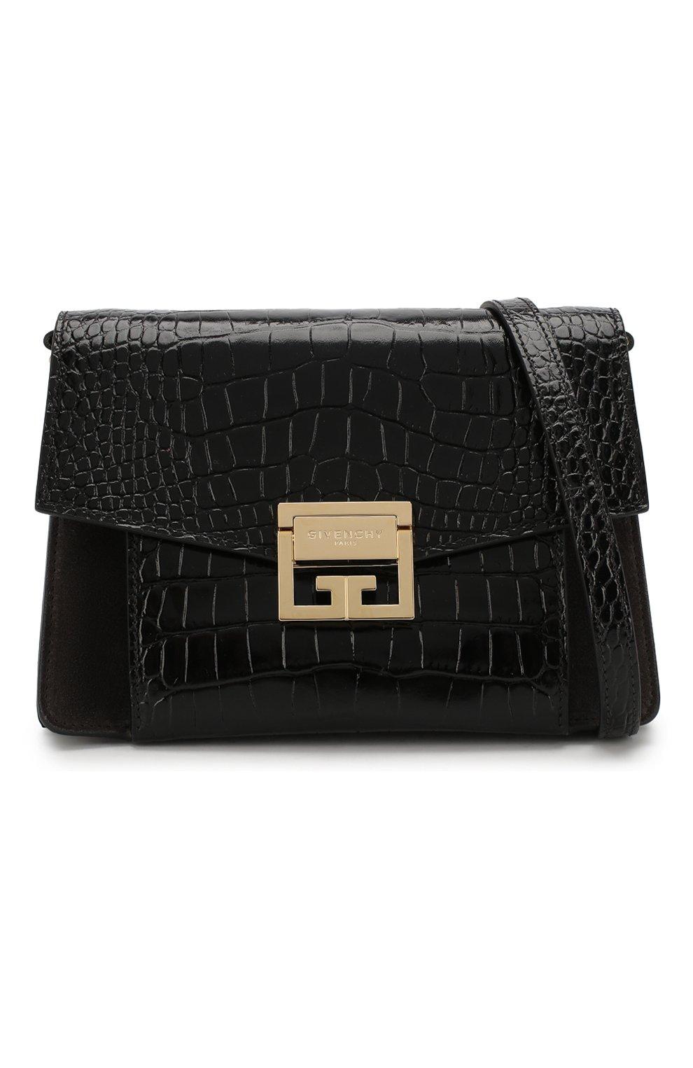 Сумка GV3 small Givenchy черная цвета | Фото №5