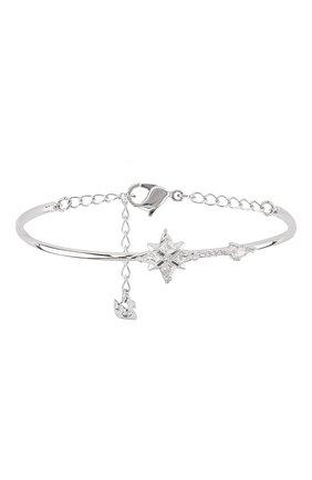 Женский браслет symbolic SWAROVSKI серебряного цвета, арт. 5511401 | Фото 1