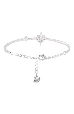 Женский браслет symbolic SWAROVSKI серебряного цвета, арт. 5511401 | Фото 2