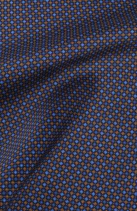Мужской шелковый платок CANALI синего цвета, арт. 03/HS02472   Фото 2