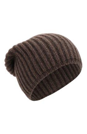 Мужская кашемировая шапка SVEVO темно-бежевого цвета, арт. 0188SA19/MP01/2 | Фото 1