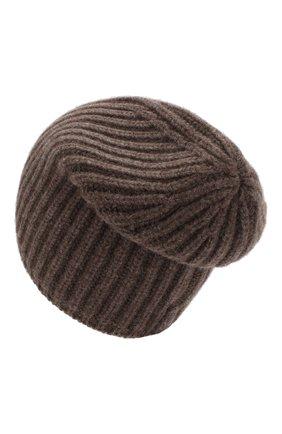 Мужская кашемировая шапка SVEVO темно-бежевого цвета, арт. 0188SA19/MP01/2 | Фото 2